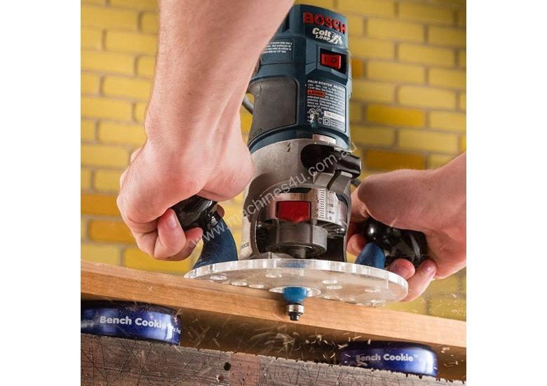 Rockler Compact Router Sub-Base with Handles