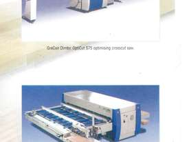 Used The Optimizing Criteria of the Automatic Dimter Cross-Cut Saw OptiCut 104  - picture2' - Click to enlarge