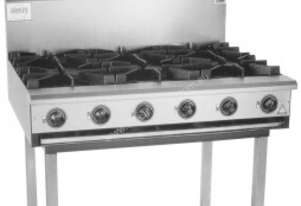 Complete BB-6 Six Burner Cook Top