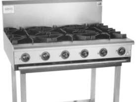 Complete BB-6 Six Burner Cook Top - picture0' - Click to enlarge