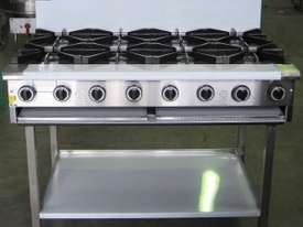 Complete BB-6 Six Burner Cook Top - picture2' - Click to enlarge