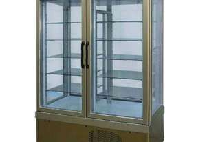 Tekna 7400 NFP 2 Door Upright Display Fridge