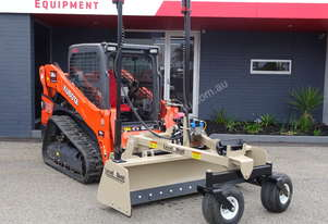 Used DD84 Laser Grader Box Skid Steer Attachment