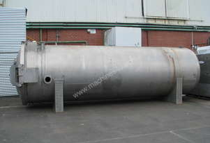 Large Industrial Stainless Steel Pressure Vessel Tank - 20000L