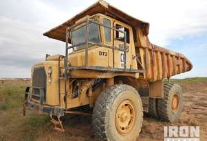 1972 Cat 769B Off-Road End Dump Truck - Parts Only