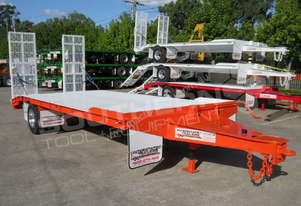 11 Ton Single Axle Tag Trailer Orange ATTTAG
