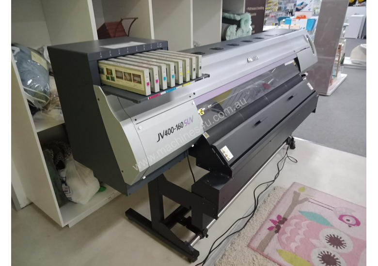 Used Mimaki Mimaki JV400-160SUV Wide Format Outdoor Solvent