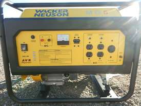 Wacker Neuson MG5 5.0Kw Air Cooled Petrol Generator - picture6' - Click to enlarge