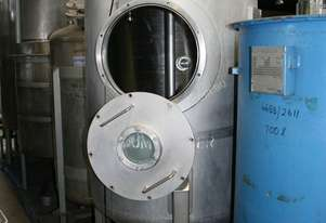 Stainless Steel Vacuum Mixing Tank