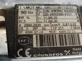Grundfos 3KW Vertical Multistage centrifugal water pump 3 m/3h 239m Head Max - picture5' - Click to enlarge