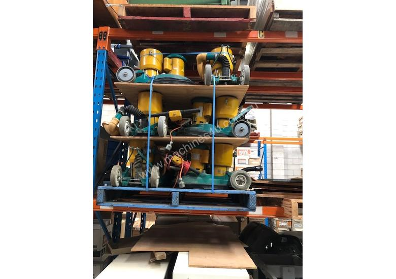 floor polishing machines 12 units per pallet