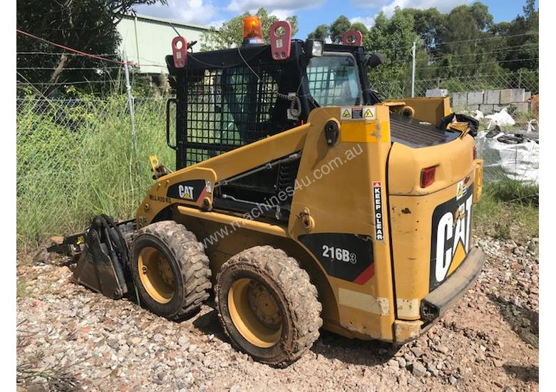 2010 CAT 216B3 For Sale