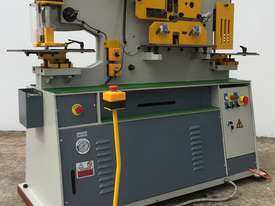 65Ton Hydraulic Punch & Shear Fully Optioned, 10 Sets Tooling & FREE Bending Attachment - picture0' - Click to enlarge