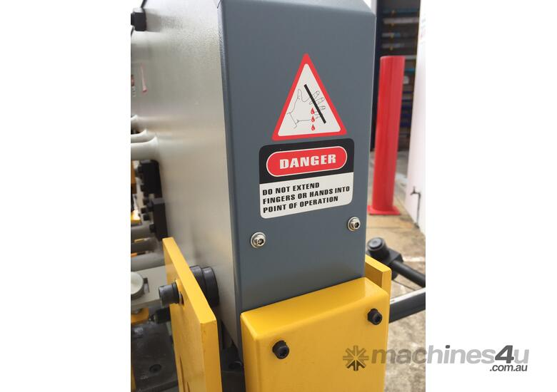 65Ton Hydraulic Punch & Shear Fully Optioned, 10 Sets Tooling & FREE Bending Attachment