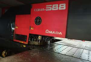 [RARE MACHINE] - Amada Coma 588 turret punch  44 station 2 auto index