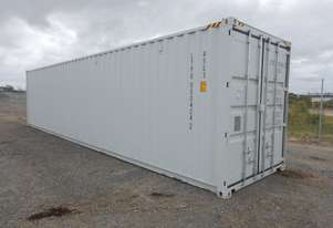 40' HC Container c/w 4 Side Doors