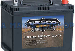 BATTERY 12V BESCO 530CCA MF