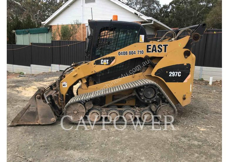 Used 2007 Caterpillar 297c Tracked Skidsteers In