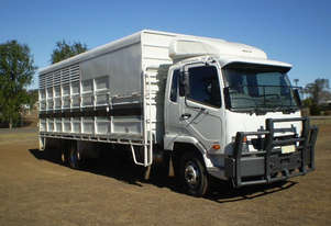 Fuso FK600 Fighter Stock/Cattle crate Truck