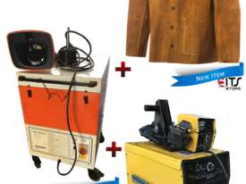 WIA MIG Welder Constructor DC65, Fume Extractor Fan & Leather Welding Jacket - picture0' - Click to enlarge