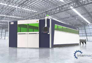 HSG 6020A 3kW Fiber Laser Cutting Machine (IPG source, Alpha Wittenstein gear)