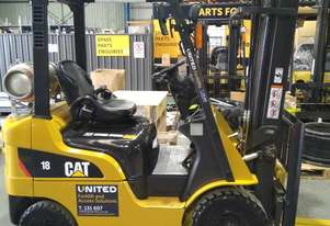 Used 1.8T CAT LPG Forklift GP18N | Sydney