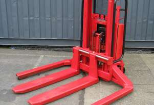 Manual Pallet Jack with Electric Lift - 90cm High 1000kg Capacity - Logitrans