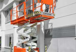 09/2018 Snorkel S2755RT - Narrow Diesel Scissor Lift