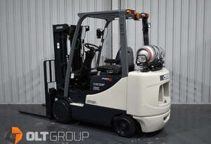 Crown CGC33P-5 3.3 Tonne Compact Forklift Container Mast Cushion Tyre 3621 Low Hours