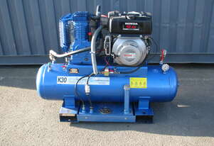 200L 9HP Diesel Air Compressor with Built on Fuel Tank - Pilot Air K30D