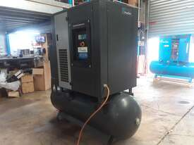 30HP 120cfm Rotary Screw Compressor W/ Integrated Air Dryer - Pneutech RS3000-TR - picture0' - Click to enlarge
