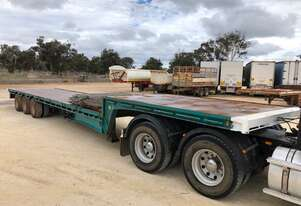 Trailer Drop Deck 45ft Freighter Lead SN899
