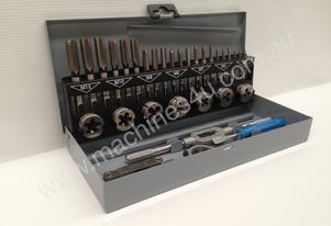 32 Piece Metric Tap & Die Set - M3 - M12