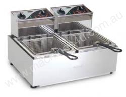 Roband F25 Double Pan Fryer -  2 x 5 Litre Tank