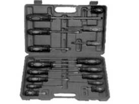 T & E TOOLS 16 Piece Screwdriver Set