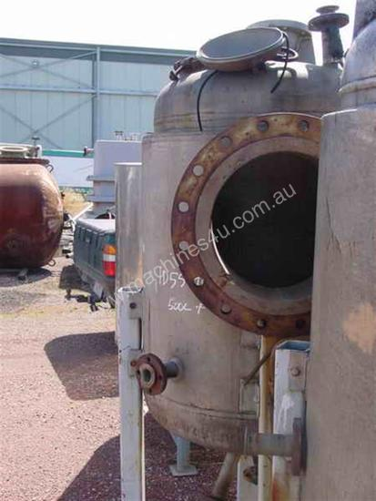 Stainless Steel & Jacketed Tank
