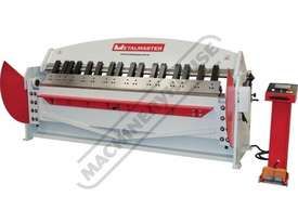 PB-860T Hydraulic NC Panbrake - Ezy Touch Screen Control 2500 x 6mm Mild Steel Bending Capacity - picture0' - Click to enlarge