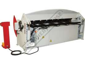 PB-860T Hydraulic NC Panbrake - Ezy Touch Screen Control 2500 x 6mm Mild Steel Bending Capacity - picture15' - Click to enlarge