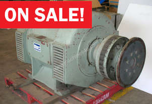 138kVA Brush OTS 552 Used Alternator