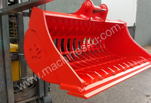 5 Tonne 1200mm Bisalloy Skeleton Excavator Buckets