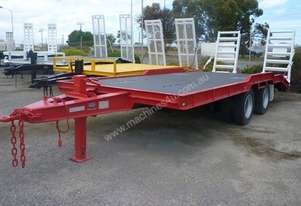 1989 P & A Trailers Tandem Axle Plant Trailer