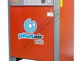 K50SI Silenced Pilot Air Compressor 10HP 415 Volt - picture0' - Click to enlarge