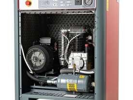 K50SI Silenced Pilot Air Compressor 10HP 415 Volt - picture3' - Click to enlarge