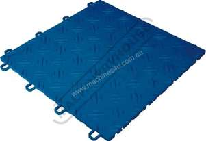 Blue Flooring Tiles - Showroom  or Garage QTY 22 Per Pack Covers 2 Square Metres