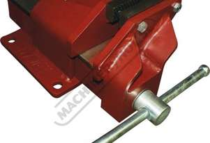 60212 Offset Fabricated Vice - Steel 100mm   Right Hand Offset Vice