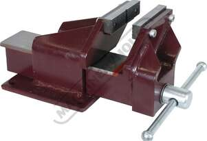60212 Steel Offset Fabricated Bench Vice - Right Hand 100mm Jaw Width 115mm Jaw Opening