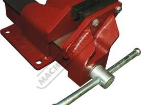 60212 Offset Fabricated Vice - Steel 100mm   Right Hand Offset Vice - picture0' - Click to enlarge