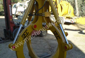 4 Finger Hydraulic Scrap Grapple Suit 20-30 Ton