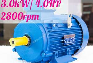 3kw/4HP 2800rpm 28mm shaft motor Three-phase