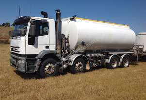 1999 IVECO MP4500 EUROTECH 8X4 RIGID FUEL TANKER